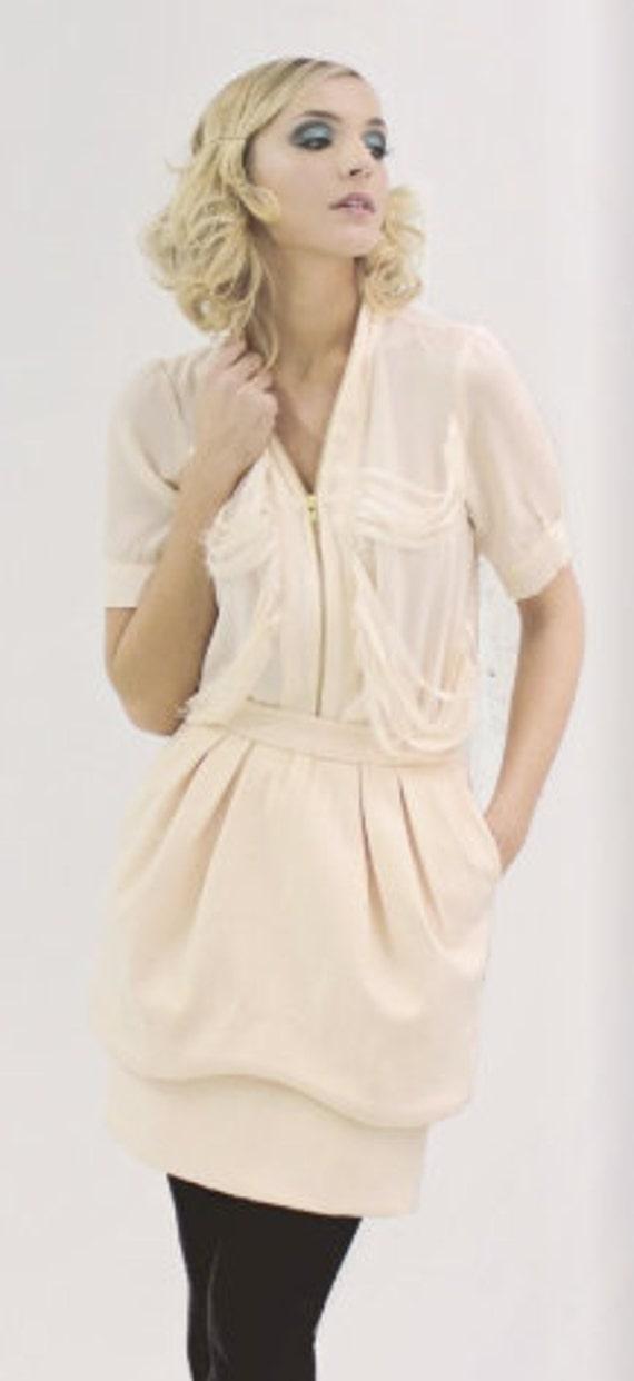 Sale--Gina  - Wool Blend Skirt