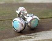 BUY 2 GET 1 FREE WEEKEND SALE - ALL ITEMS ..... Opal Studs