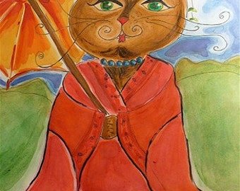 Geisha Cat
