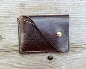 Leather Wallet Handstitched