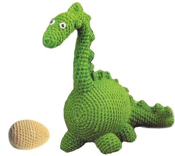 Amigurumi Dinosaur Pattern : Pattern for Amigurumi Dinosaur