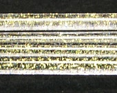 Gold Dichroic Glass Stringers for Lampwork cased in COE 104 Double Helix Zephyr  CFD SRA,