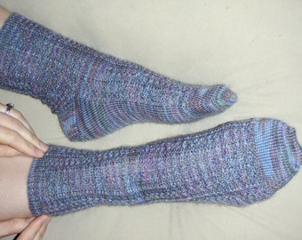 PATTERN Lacy Cable Socks