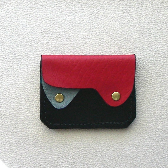 Small Leather Wallet, Coin Purse, Card Case