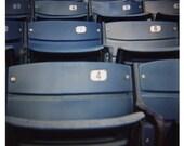 Yankee Stadium Seats - Diana Fine Art Photography Print - 5x5