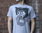 Freddy Bear - Mens Medium Size T-Shirt