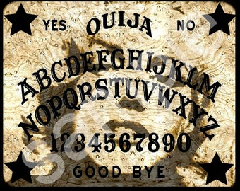 OUIJA  Board MARILYN Spirit  retro icon Altered  8x10  Digital Download