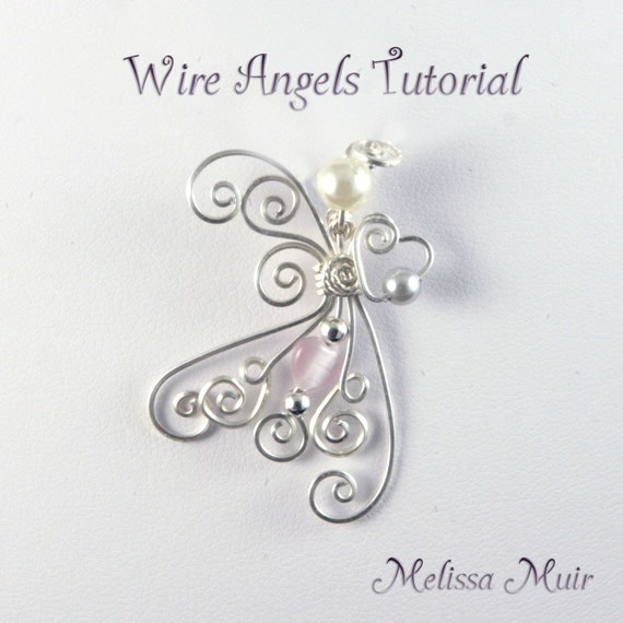 Wire Angel Pendant/BroochTutorial
