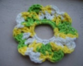PIF - crocheted hair scrunchie