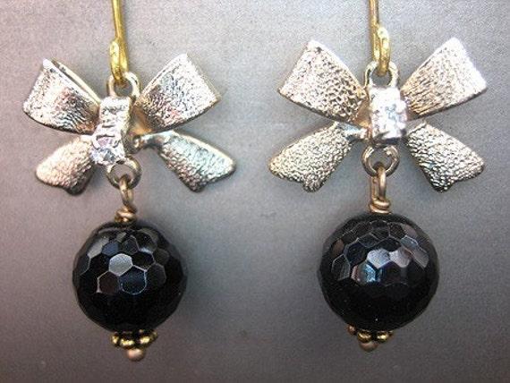 Sarah Earrings Onyx