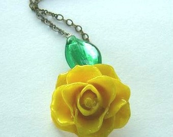 A Real Yellow Rose for You