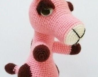 Amigurumi Giraffe.