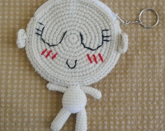 Amigurumi Cute Baby Coin Purse.