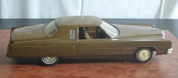 1960s Cadillac Eldorado Brown Dealer Promo Car Johan Undated