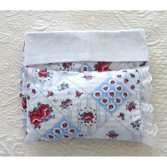 Sale...doll bedding, 18 inch doll accessories, hand tied, doll blanket and pillow, AG, Our Generation