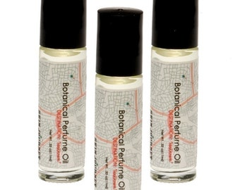 Republic of India Botanical Perfume Oil, with extracts of Lavender and Calendula.