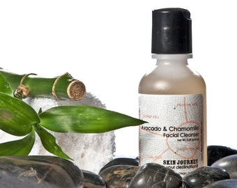 Avocado and Chamomile Facial Cleanser-Quality, Gentle, Spa Botanicals, PH balanced. Read my feedback you will not be dissappointed.