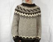 Vintage Icelandic Sweater Womens size Large