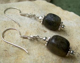 Labradorte Earrings