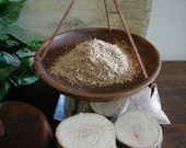 OAK WOOD SHAVINGS - For Incense Mojo Gris Gris Bags - Bravery Leadership Prosperity Strength