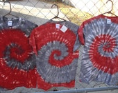 Reserved listing for marlamedders Alabama tie dye shirts