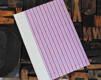 Baby Book - Pink and Purple Striped