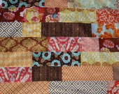 Custom Photo Prop Back Drop, Patchwork Cotton Fabric Drape.  One of a Kind.