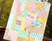 Custom Crib Quilt.  Gender Neutral, or Your Choice of Colors.