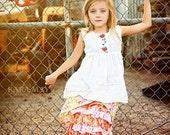 Girls Skirt Kit Oh So Sassy--Ruffle Skirt PDF Pattern