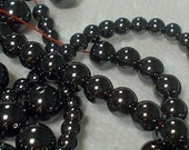 hematite round beads 6mm/30 pieces