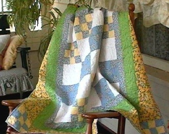 Grandmothers Daisies Quilt Pattern Beginner Friendly