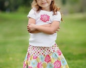 SALE...Chloe Skirt for baby and toddler girl by DolceBaci - Ready to ship in size 12-18m 2T and 4T