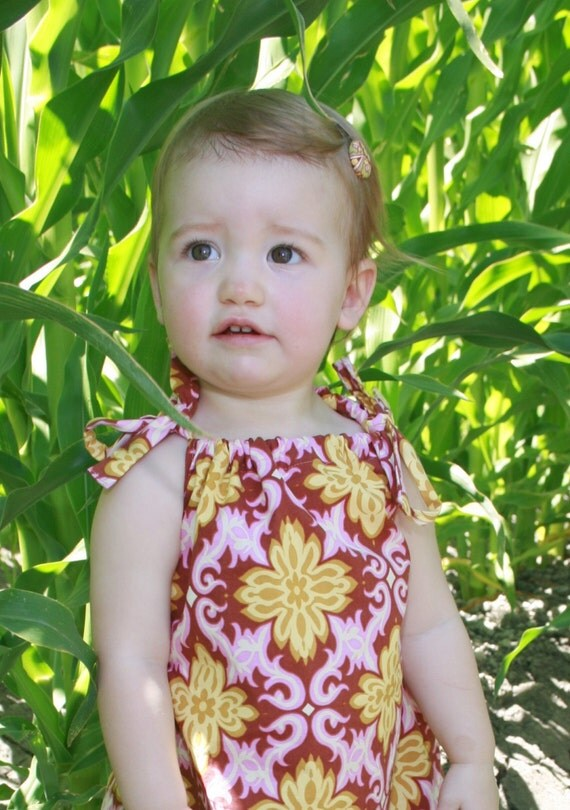SALE....Sophie...Sun Dress for baby and toddler girl by DolceBaci - 2T Last One READY TO SHIP