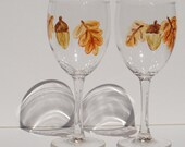 Acorn Wine Glasses RESERVED FOR EOSWILDCAT