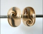 Handmade Lampwork Bead Pair - by FinishingTouchJewels