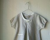 Pleated Linen Blouse ONLY ONE