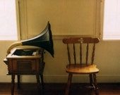 Empty Sound  - Fine Art Limited Edition Polaroid Giclee Print - Music Room, Nursery, Home Decor