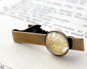 CLEARANCE Polaroid Tie Clip - Onion Bloom - Great for Weddings, Groomsmen, Father of the Bride, Dad, Best Man, Dudes