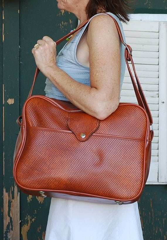 Vintage  Carry-On Messenger Bag Luggage