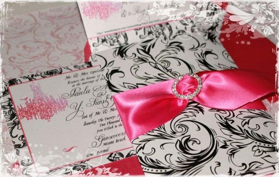 Chandelier Wedding Invitations: Wedding Marie Antoinette Versailles Chandelier Invitations In