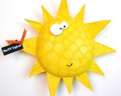 SuN  named Blanket ...  Bright YelloW... with ...PolKa DoTs