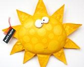 SuN NaMed TuLip ... WhiMsicaL WaLL ArT ... bright yellow ... Polka dots ... Teamposhnursery