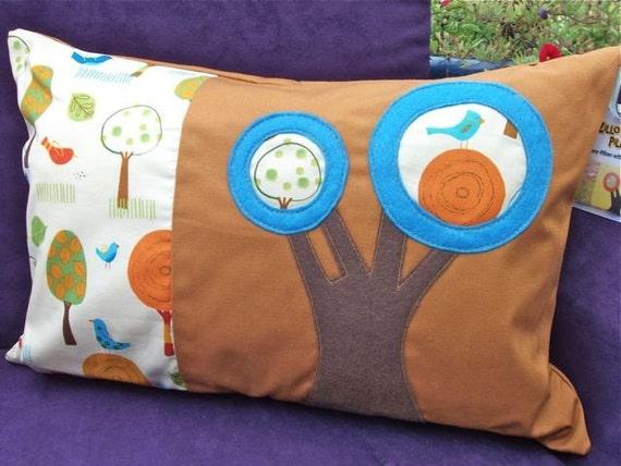 Little Birdie in a Tree - Zillow Pillow