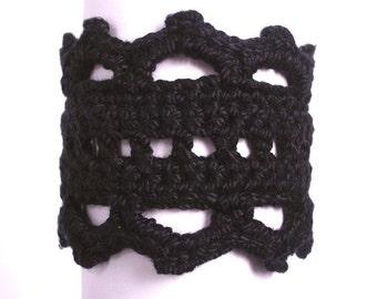 Little Black Bracelet - PDF Crochet Pattern