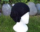 Made To Order - Mandara Skullcap in Black