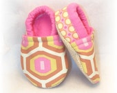 Baby Crib Shoes - Honeycomb