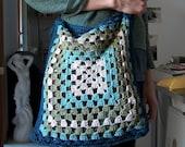 Granny Square Crochet Spring\/Summer Bag