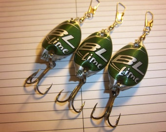 BudLight Lime Cap Lures (3)