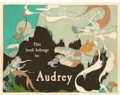 Vintage Mermaids Personalized Bookplates