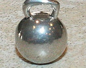1 Kettlebell - CrossFit Lovers Pewter Pendant or Charm